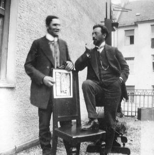 Vassily Kandinsky and Franz Marc (1911)