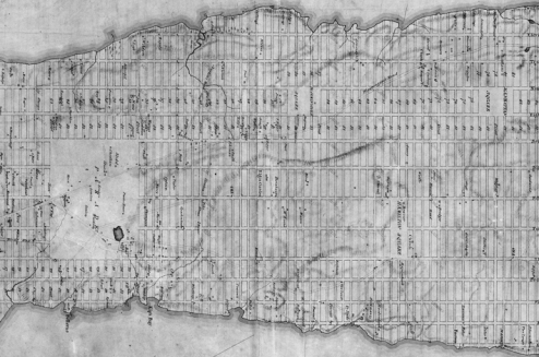 Commissioners' Plan (1811), detail