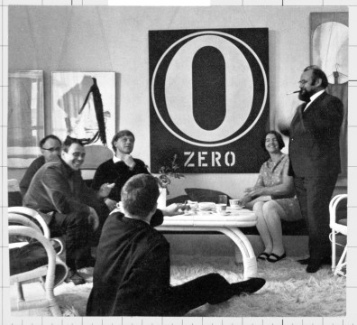 Some Artists of Zero in Düsseldorf (ca. 1965)