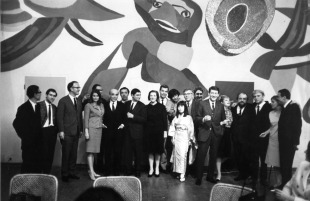The Opening of the Zero Exhibition in the Stedelijk Museum, 1965