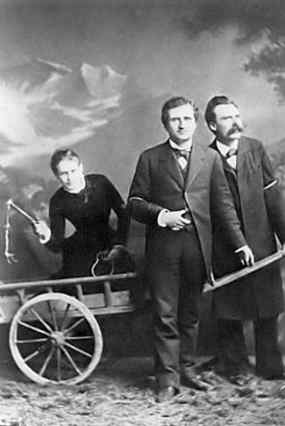 Lou Salomé, Paul Rée, and Friedrich Nietzsche (May 1882)