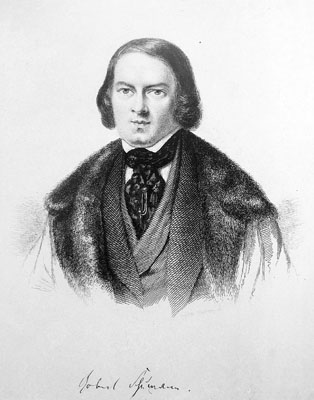 Robert Schumann (early 1844)