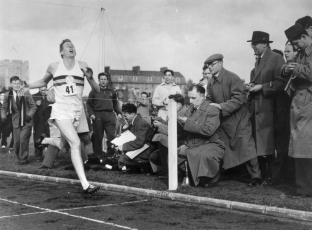 Roger Bannister (May 6, 1954)